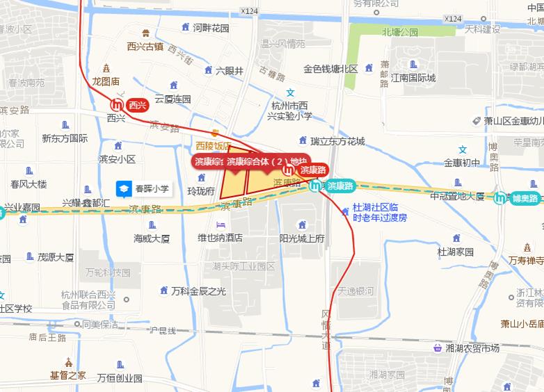 滨康综合体(1)地块(计划)